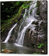 Summer At Glen Moss Falls Acrylic Print