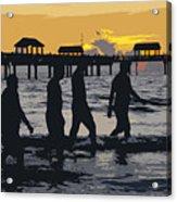 Summer At The Beach Acrylic Print