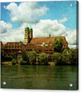 Summer. At The Resort In Bad Saeckingen. Germany. Acrylic Print
