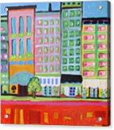 Summer Avenue Acrylic Print