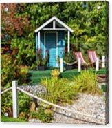 Summer Beach House Acrylic Print