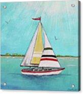 Summer Breeze-d Acrylic Print