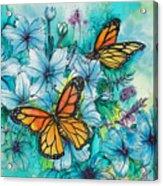 Summer Butterflies Acrylic Print
