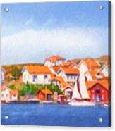Summer Coast Acrylic Print