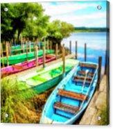 Summer Colors Acrylic Print