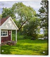 Summer Cottage Acrylic Print