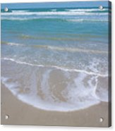 Summer Day At The Beach Acrylic Print