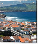 Summer Day In Sao Miguel Acrylic Print