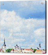 Summer Day In Tallinn Acrylic Print