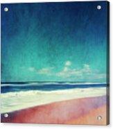 Summer Days IIi - Abstract Beach Scene Acrylic Print