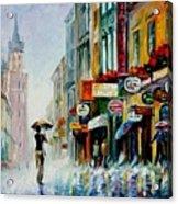 Summer Downpour Acrylic Print