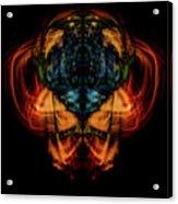 10644 - Summer Fire Mask 44 - The Battle Imp Acrylic Print