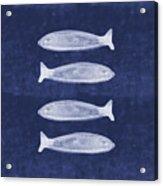 Summer Fish- Art By Linda Woods Acrylic Print