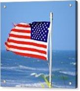 Summer Flag Acrylic Print