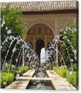 Summer Fountain Acrylic Print