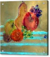 Summer Fruit Acrylic Print
