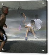 Summer Fun In Newark Nj Acrylic Print
