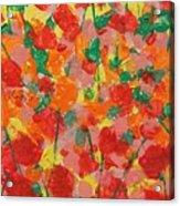 Summer Garden Acrylic Print