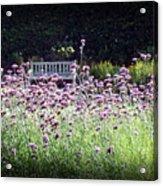 Summer Garden II Acrylic Print