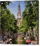 Summer In Amsterdam-2 Acrylic Print