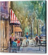Summer In Cedarburg Acrylic Print