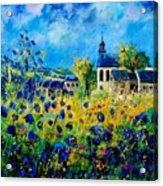 Summer In Foy Notre Dame  Acrylic Print