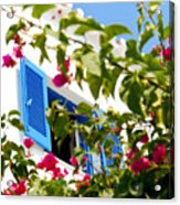 Summer In Greece Acrylic Print