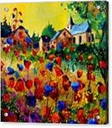 Summer In Sosoye Acrylic Print