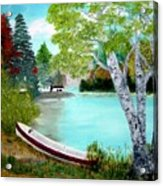 Summer In The Muskoka's Acrylic Print