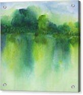 Summer Landscape Acrylic Print