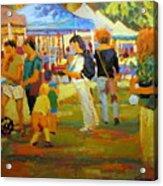 Summer Market Acrylic Print