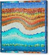 Summer Mosaic Acrylic Print