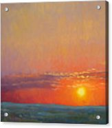 Summer Of The Red Sky Acrylic Print