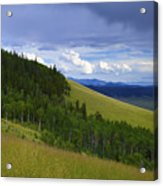 Summer On Kenosha Pass Acrylic Print