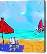 Summer On Nantasket Acrylic Print