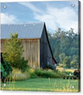 Summer On The Farm Acrylic Print by Barbara  White