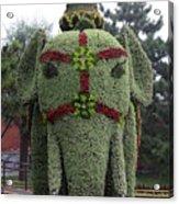 Summer Palace Elephant 2 Acrylic Print