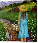 Summer Path Acrylic Print
