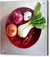 Summer Plate 2 Acrylic Print