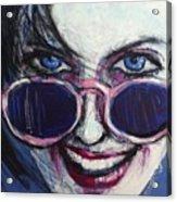 Summer - Portrait Of A Woman Acrylic Print