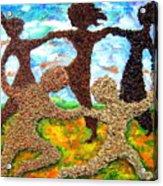 Summer Prairie Dance Acrylic Print