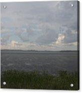 Summer Rain On Plymouth Pond Maine Acrylic Print