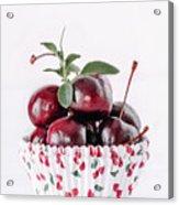 Summer Red Cherries Acrylic Print