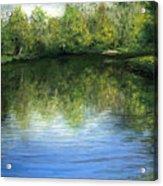 Summer River Acrylic Print