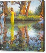 Summer Romantism. Acrylic Print