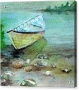 Summer Rowboat Acrylic Print