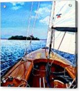 Summer Sailing Acrylic Print