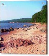 Summer Shores Of Lake Superior Acrylic Print