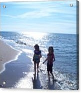 Summer Silhouette Acrylic Print