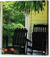 Summer Sitting Acrylic Print